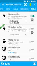 Скачать Notify & Fitness for Mi Band на Андроид - Без Рекламы