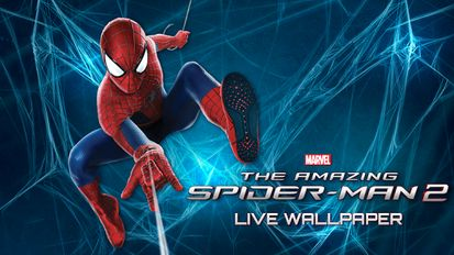 Скачать Amazing Spider-Man 2 Live WP на Андроид - Взлом на Лицензию